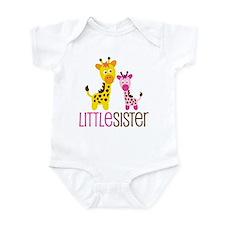 Giraffe Little Sister Onesie