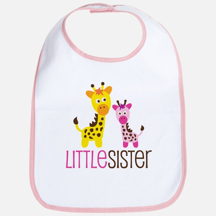 Giraffe Little Sister Bib