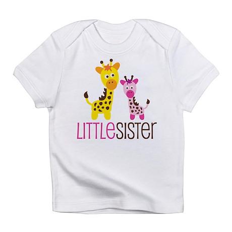 Giraffe Little Sister Infant T-Shirt