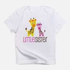 Giraffe Little Sister Infant T-Shirt