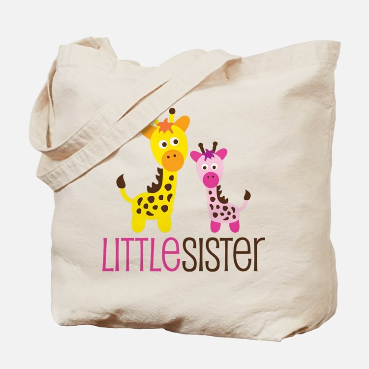 Giraffe Little Sister Tote Bag