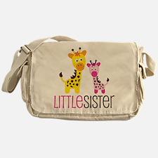 Giraffe Little Sister Messenger Bag