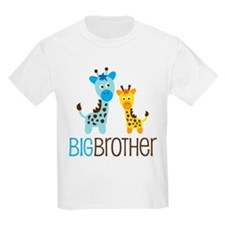 Giraffe Big Brother T-Shirt
