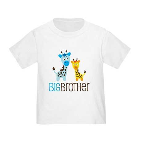 CafePress  - Giraffe Big Brother Toddler T-Shirt