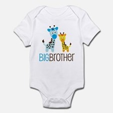 Giraffe Big Brother Infant Bodysuit