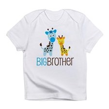 Giraffe Big Brother Infant T-Shirt
