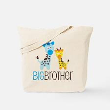Giraffe Big Brother Tote Bag
