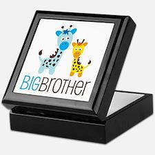 Giraffe Big Brother Keepsake Box