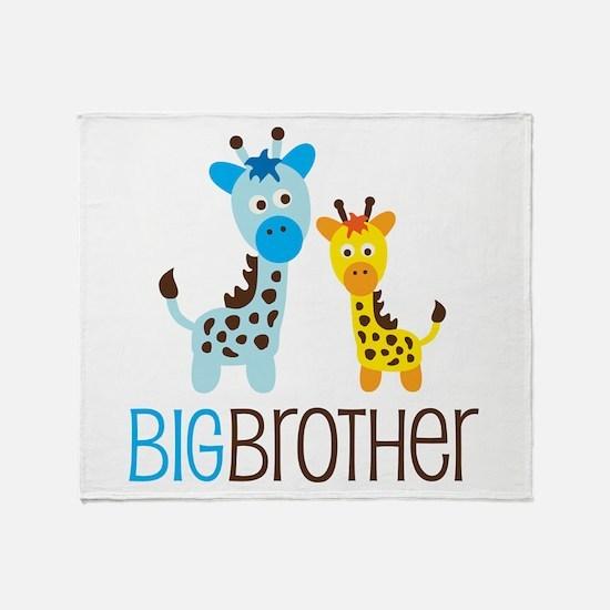Giraffe Big Brother Throw Blanket