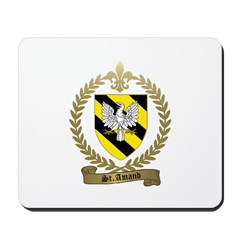 ST. AMAND Family Crest Mousepad