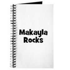 Makayla Rocks Journal