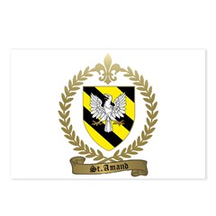 ST. AMAND Family Crest Postcards (Package of 8)