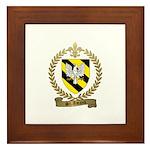 ST. AMAND Family Crest Framed Tile