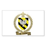 ST. AMAND Family Crest Sticker (Rectangle 50 pk)