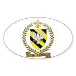 ST. AMAND Family Crest Sticker (Oval 10 pk)