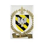 ST. AMAND Family Crest Rectangle Magnet (100 pack)