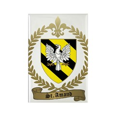 ST. AMAND Family Crest Rectangle Magnet