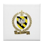 ST. AMAND Family Crest Tile Coaster