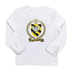 ST. AMAND Family Crest Long Sleeve Infant T-Shirt