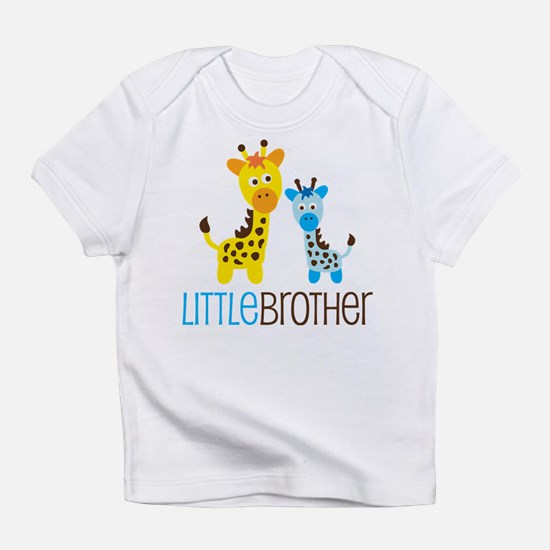 Giraffe Little Brother Infant T-Shirt