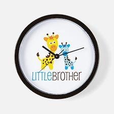 Giraffe Little Brother Wall Clock