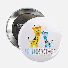 """Giraffe Little Brother 2.25"""" Button"""