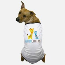 Giraffe Little Brother Dog T-Shirt