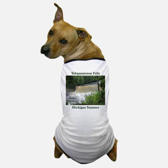 Tahquamenon Falls Summer Dog T-Shirt
