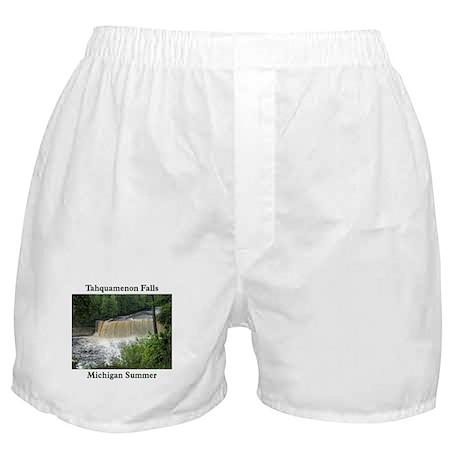 Tahquamenon Falls Summer Boxer Shorts