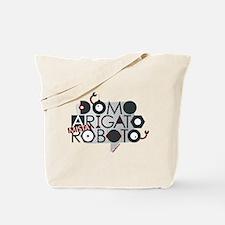 DOMO ARIGATO MISTA ROBOTO Tote Bag