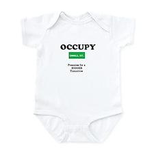 Cute Occupy Infant Bodysuit