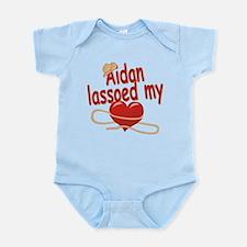Aidan Lassoed My Heart Onesie