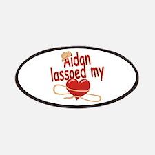 Aidan Lassoed My Heart Patches