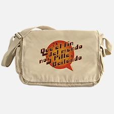 QUE EL FIN DEL MUNDO NOS PILL Messenger Bag