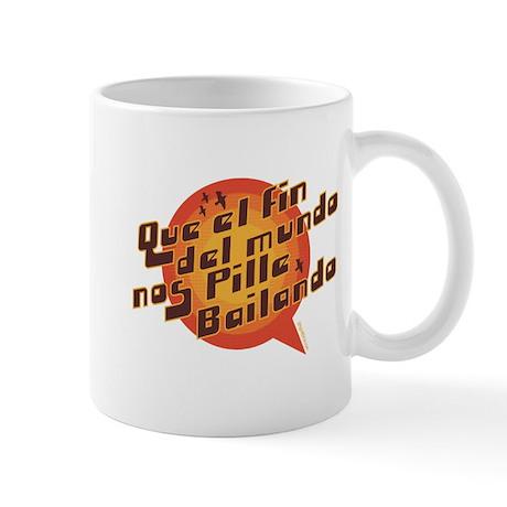 QUE EL FIN DEL MUNDO NOS PILL Mug