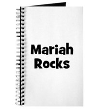 Mariah Rocks Journal