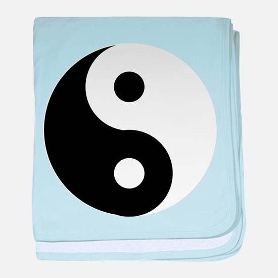 Yin & Yang (Traditional) baby blanket