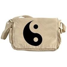 Yin & Yang (Traditional) Messenger Bag