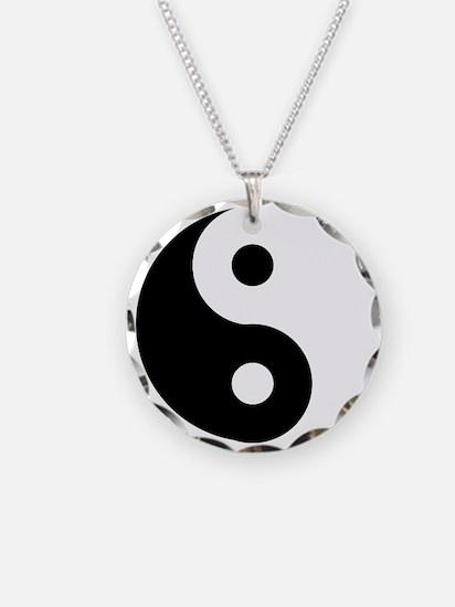 Yin & Yang (Traditional) Necklace Circle Charm