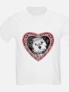 ADD PHOTO - heart frame T-Shirt