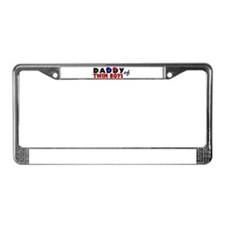 Daddy of twin boys License Plate Frame