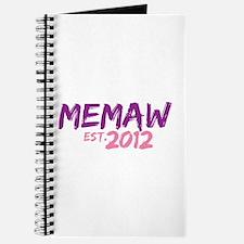 Memaw Est 2012 Journal