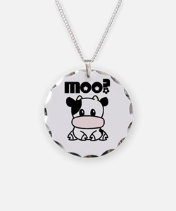 Moo? Cow Necklace