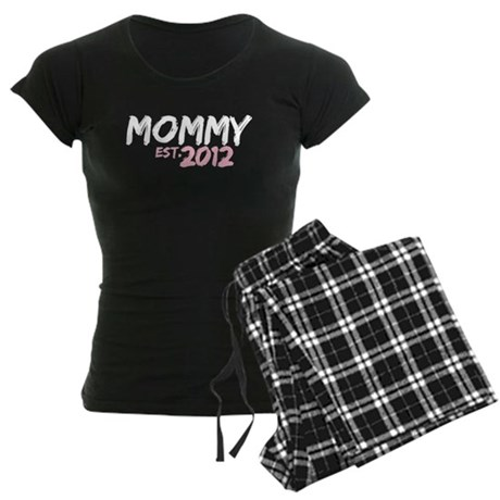 Mommy Est 2012 Women's Dark Pajamas
