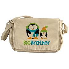 2 Penguins Big Brother Messenger Bag