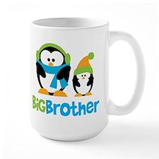 2 Penguins Big Brother Mug