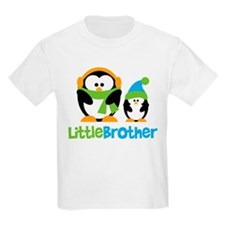 2 Penguins Little Brother T-Shirt