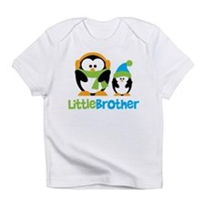 2 Penguins Little Brother Infant T-Shirt