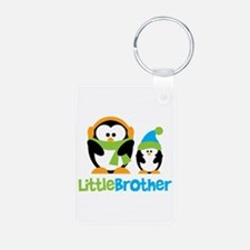 2 Penguins Little Brother Keychains