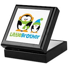 2 Penguins Little Brother Keepsake Box